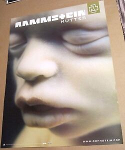Rammstein 2001 Original Mutter Two Sided Promo Poster