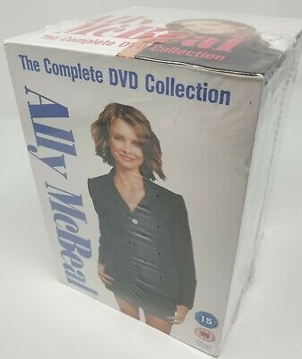 Ally McBeal - The Complete DVD Collection over 78 hours
