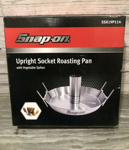 Snap-on Tools Upright Socket Roasting Pan with Vegetable Spikes SSX19P114 - NEW
