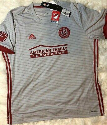 2017 Adidas Men's Atlanta United Soccer Jersey 2XL XXL Authentic Player MLS US image