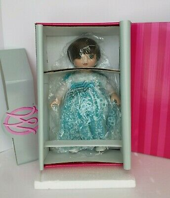 RARE MARIE OSMOND ADORA BELLE SPRING FLING AQUA DOLL NEW NO COA NUMBER ON DOLL