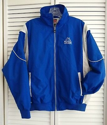 Kappa Blue Jacket/WindBreaker - Vintage - Size S