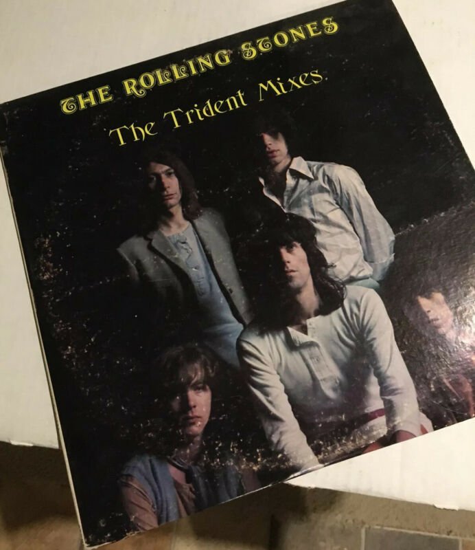 VERY RARE!! The Rolling Stones - The Trident Mixes. Magic Dwarf 2XLP 1969 1979.