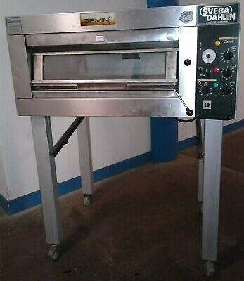 Gemini Sveba Dahlen Dc-12-dd Commercial Electric Single Deck Steam Bakery Oven