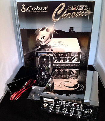 Cobra 29 LTD Chrome CB Radio-Factory Stock Radio-VIEW DESCRIPTION FOR (Cobra 29 Ltd Chr Chrome Cb Radio)