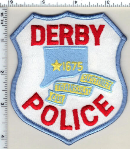 Derby Police (Connecticut) Shoulder Patch - new from 1991