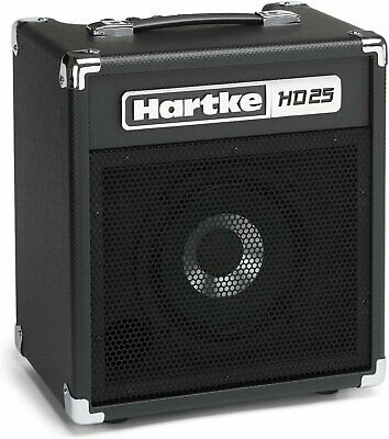Hartke 25 Watt 8″ Bass Combo Amplifier - HD25