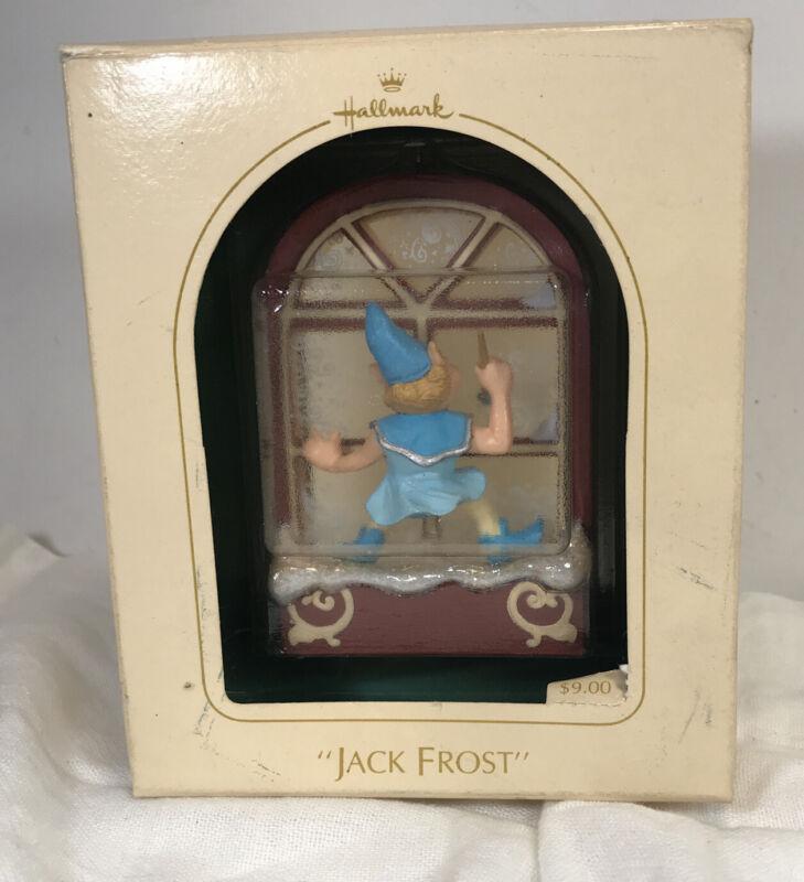 Vintage 1983 Jack Frost Hallmark Keepsake Christmas Ornament