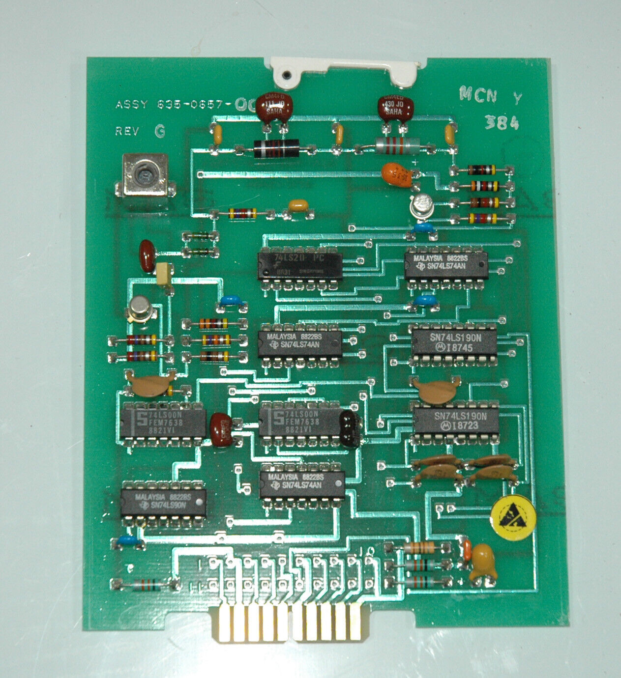 851s 1 synthesizer end decade module p