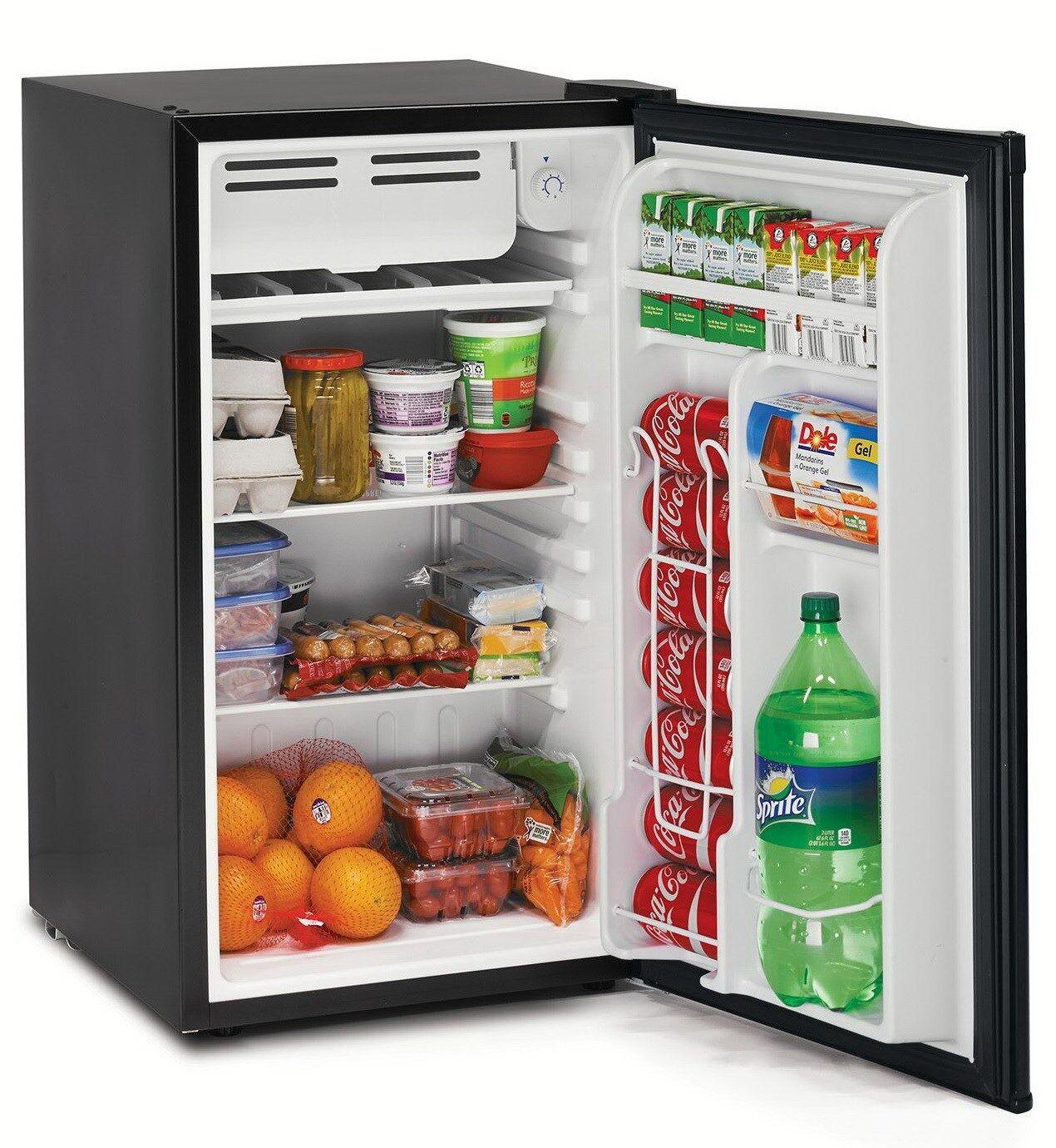 new tramontina 3 2 cu ft compact refrigerator small dorm office fridge ebay. Black Bedroom Furniture Sets. Home Design Ideas