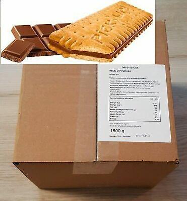 1,5 kg Bahlsen PiCK UP Choco  🍪 Karton 1500g ✓ B-Ware - Bruch Kekse   🍪> OVP