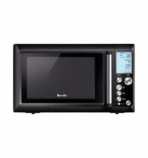 Breville Quick Touch Black Microwave Bmo735bks
