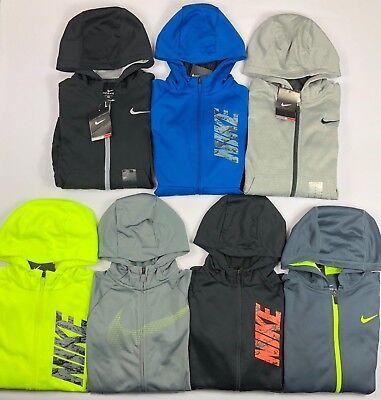 Boy's Youth Nike Therma Full-Zip Hoodie (Youth Full Zip Hoodie)