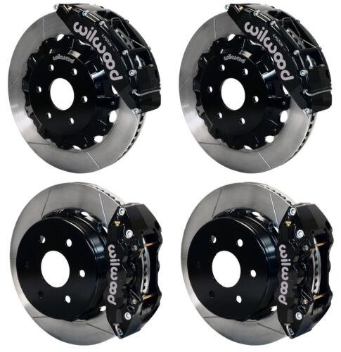 "Wilwood Disc Brake Kit,cadillac Escalade,esv,ext,8992/9838,16""/14"" Rotors,black"
