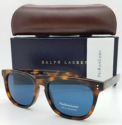 Polo Ralph Lauren sunglasses PH4150 530380 54mm Havana Blue AUTHENTIC Classic (Ralph Lauren Havana Sunglasses)