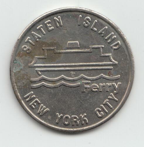 Staten Island Ferry transit token New York City NYC - NY632C