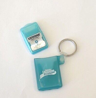 NEW Rare Listerine Cool Mint PocketPaks Key Chain - Listerine Cool Mint