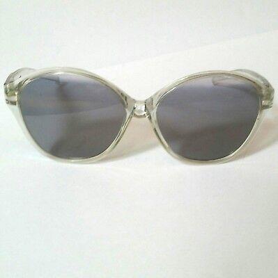 VTG Clear Plastic Foster Grant Lightly Tinted Non-Perscription Eye Sun (Non Perscription Glasses)