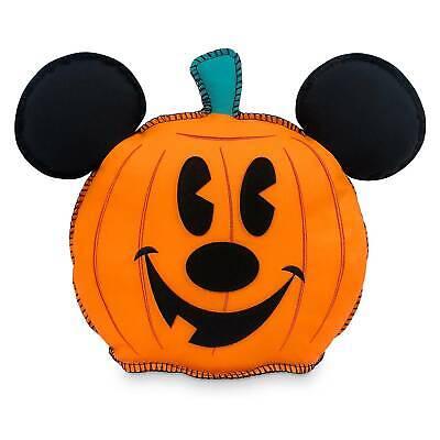 Disney Mickey Maus Kürbis Jack-O' -lantern Halloween Kissen Neu mit Etikett
