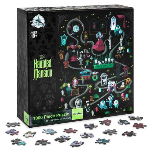 NEW NIB Disney Parks THE HAUNTED MANSION 1000-pc Puzzle~GRIM GRINNING GHOSTS