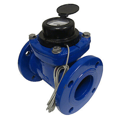 New Prm 4 Woltmann Helix Style Water Meter For Totalization And Rate Indication