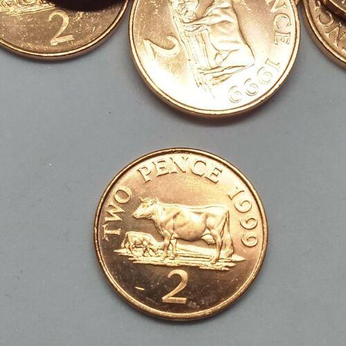Guernsey Penny Uncirculated Cow Coin Farm