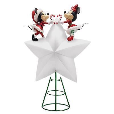 Mickey Minnie Mouse Tree Topper Christmas Santa Disney