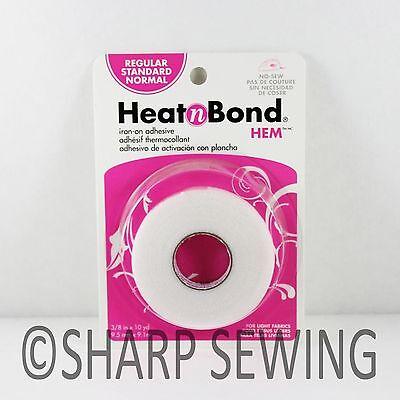 "HEAT N BOND REGULAR IRON ON ADHESIVE HEMMING TAPE - 3/8"" (9.5mm) x 10yds #3722"