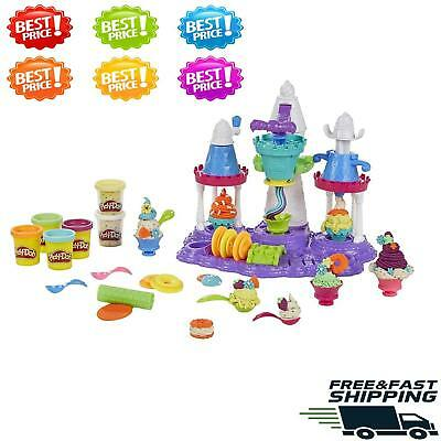 Play-Doh  Ice Cream Castle Fun Christmas Gift Birthday Toys Kids Fast Shipping