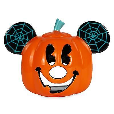 Disney Mickey Mouse Jack O'Lantern Halloween Votive Kerzenständer Neu