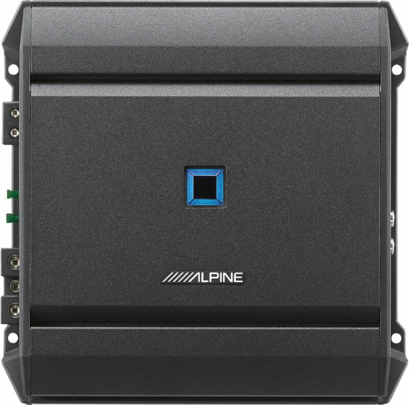 Open-Box Excellent: Alpine - S-Series Class D Digital Mono Amplifier with Var...