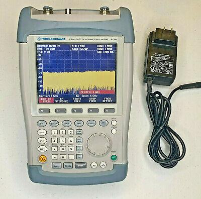 Rohde Schwarz Fsh6 100khz To 6ghz Spectrum Analyzer W Preamp Tracking Gen