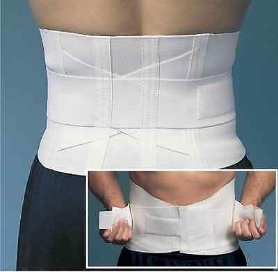 Upper Lower Back Saver Pain Relief Self Fasten Posture Support Brace Firm Belt