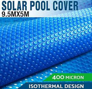 9.5 X 5 Solar Swimming Pool Cover 400 Micron Outdoor Blanket Melbourne CBD Melbourne City Preview