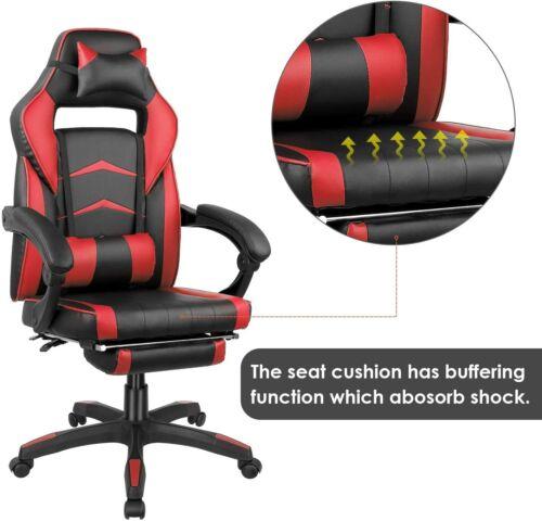 gaming chair racing ergonomic recliner office computer
