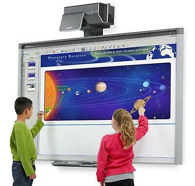 Interactive Smart Board Sbx800 And Smart Throw Projector Ux60. 90 Days Warranty