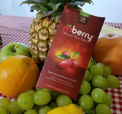 mberry Miracle Berry Tablets | Single Pack (10 Tablets)