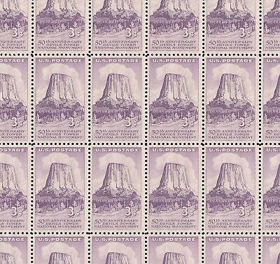 1084   DEVILS TOWER     M NH  FULL  SHEET OF 50