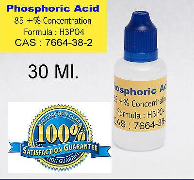 30 Ml.  1 Oz. Phosphoric Acid 85  Soldering Flux