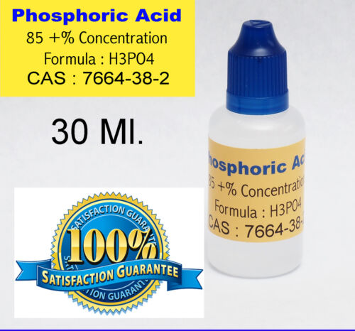 30 ml.  /  1 Oz. Phosphoric Acid 85  %  SOLDERING FLUX