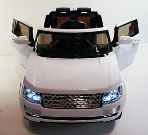 EXCLUSIVE 12V RANGE ROVERS STYLE WITH RUBBER TIRES/RC/