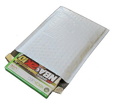 2 100 Poly Bubble Mailers 8.5 X 12 Dimple Design Padded Envelopes Bags 8.5x12