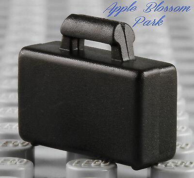 Business Plastic Bags (NEW Lego City BLACK BRIEFCASE Business Minifig/Minifigure Suitcase Attache Bag )