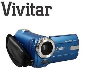 Vivitar DVR 908M Full HD Mini Digital Camcorder - BLUE 8MP 1080P Video  Recorder