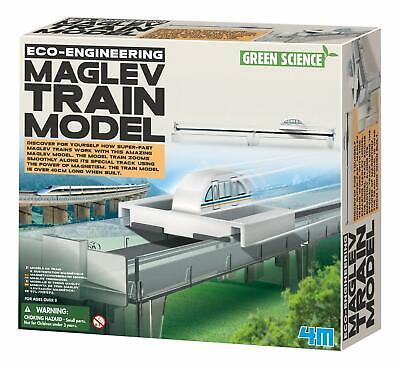 4M TOYSMTH 3019 MAGNETIC LEVITATION / MAGLEV TRAIN MODEL KIT- Ages 8+
