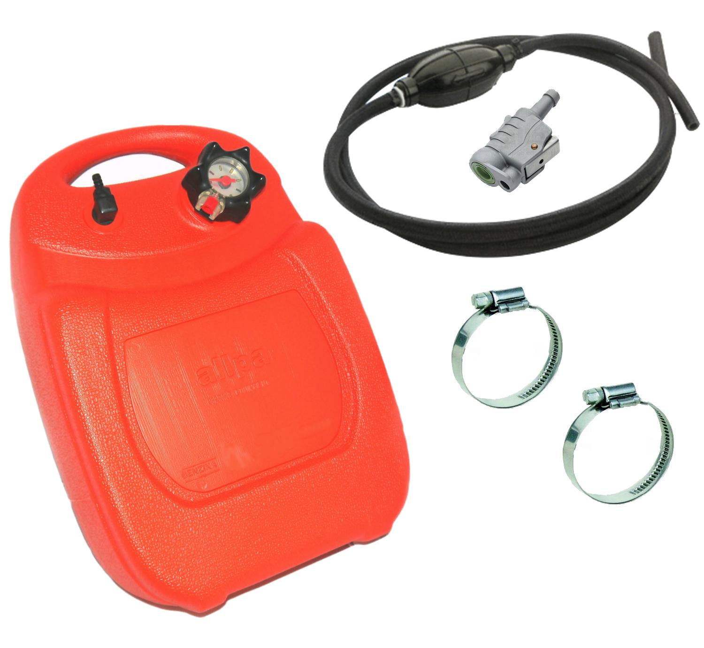 Anschluss für Honda Außenborder 23L Benzintank Tragetank Pumpball Schlauch