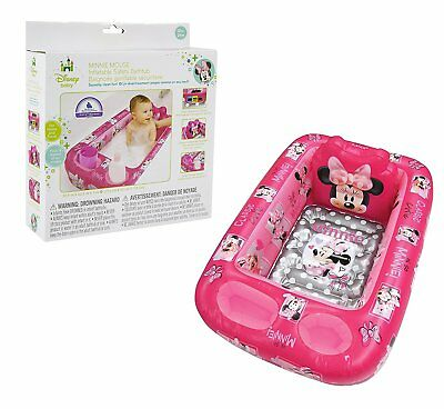 Minnie Mouse Pool (Disney Minnie Mouse Baby Inflatable Bathtub Kid Toddler Bath Tub Portable)