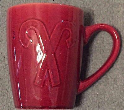 Pfaltzgraff Red Candy Cane Coffee Cup Mug Holiday 14oz NEW](Candy Cane Coffee)
