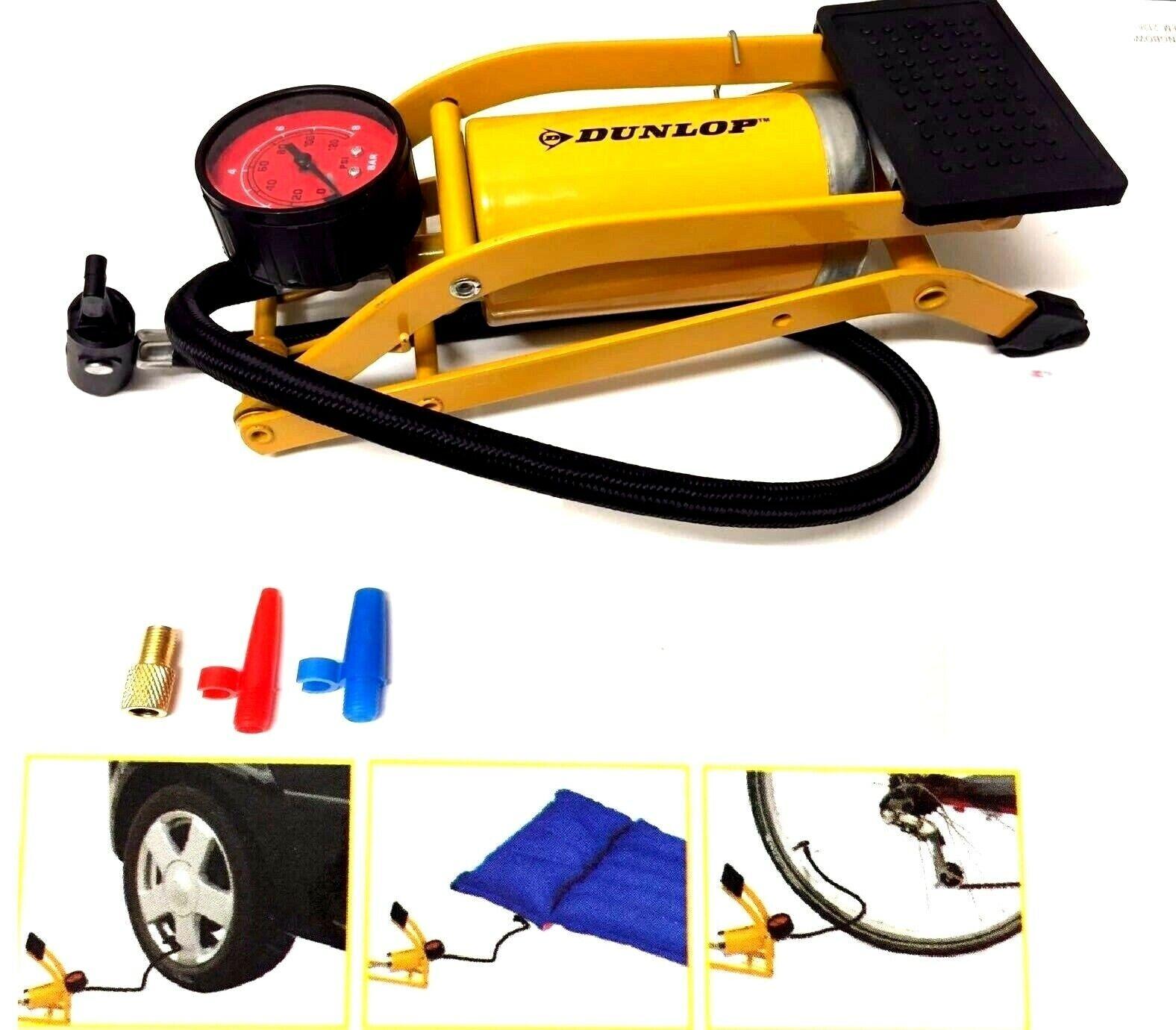Fahrradpumpe Minipumpe MINI Luftpumpe Pumpe Ballpumpe Mit Manometer Kunststoff