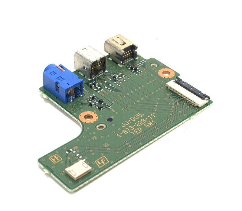 Sony HVR-Z7u Z7u Part A/V LANC Port Jack With Circuit Board